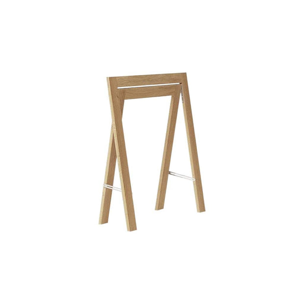 Form & Refine Decor Austere Trestle - Set of 2 - White Oak Kaufmann Mercantile