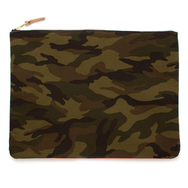 General Knot & Co. Tech Cases One Size / Multi Ranger Camouflage Large Laptop Sleeve + Carryall Kaufmann Mercantile