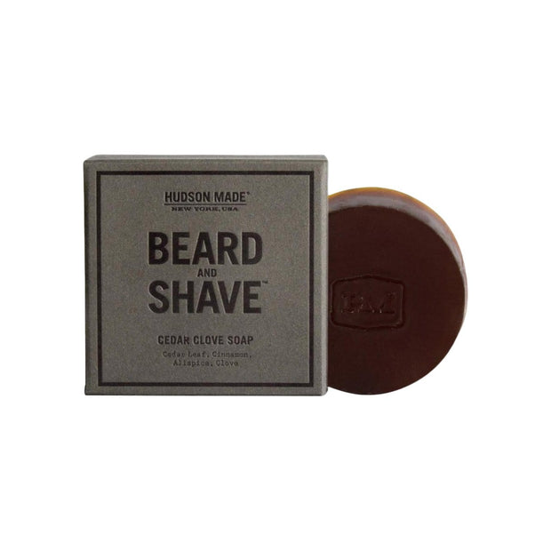 Hudson Made Beard Care Cedar Clove Beard & Shave Soap Kaufmann Mercantile