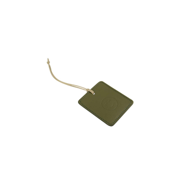 IEFrancis Minimalist Goods Travel Organization Olive Australian Leather Travel Tag Kaufmann Mercantile