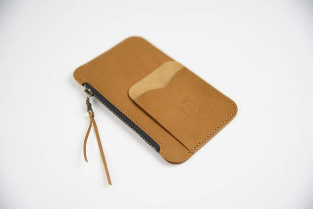 IEFrancis Minimalist Goods Wallets & Card Cases Australian Leather Pocket Zip Wallet Kaufmann Mercantile