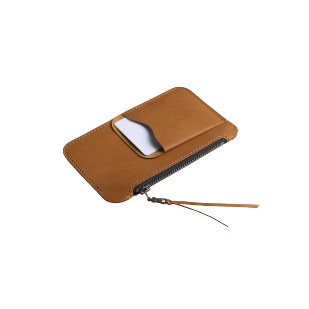 Australian Leather Pocket Zip Wallet
