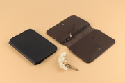 IEFrancis Minimalist Goods Wallets & Card Cases Australian Leather Zip Fold Hybrid Wallet Kaufmann Mercantile