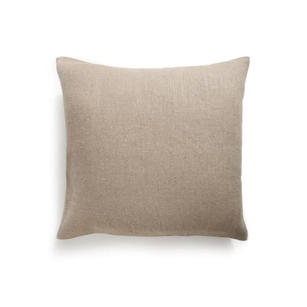 Kaufmann Mercantile Cushions & Throws Tan Organic Linen Pillow Kaufmann Mercantile
