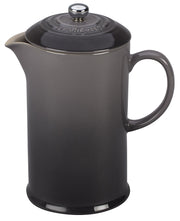 Le Creuset Coffee & Tea Oyster Stoneware French Press Coffee Maker Kaufmann Mercantile