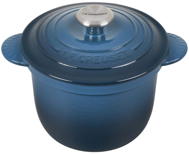 Le Creuset Cookware Deep Teal Signature Cast Iron Rice Pot Kaufmann Mercantile