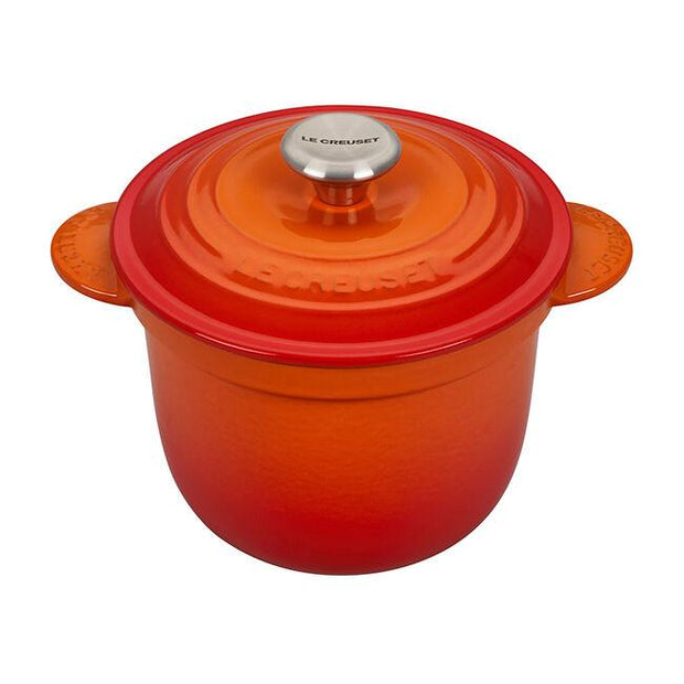 Le Creuset Cookware Flame Signature Cast Iron Rice Pot Kaufmann Mercantile