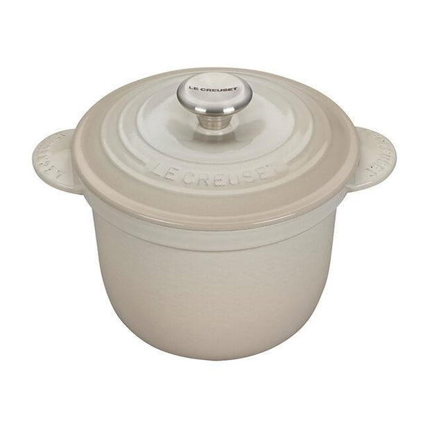 Le Creuset Cookware Meringue Signature Cast Iron Rice Pot Kaufmann Mercantile