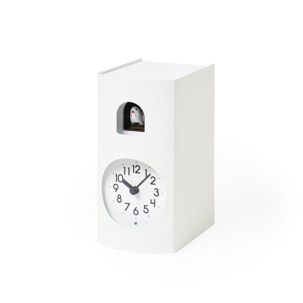 Lemnos Clocks White Bockoo Cuckoo Clock Kaufmann Mercantile