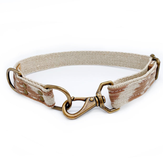 Little Donkey Supply Co. Collars + Harnesses Desert Ikat Dog Collar Kaufmann Mercantile