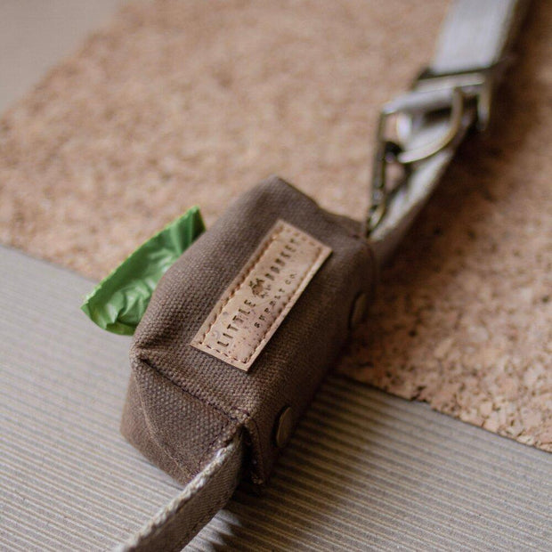 Little Donkey Supply Co. Walk Canvas Leash Bag Kaufmann Mercantile