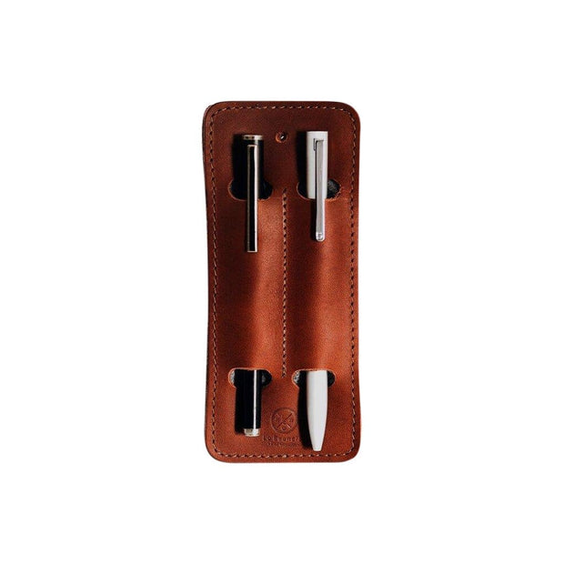Lo Esencial Notebooks & Writing Tools Clásico Handcrafted Leather Pen Holder Kaufmann Mercantile