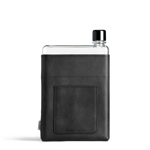 Memobottle Flasks & Water Bottles Default A5 Memobottle Black Vegan Sleeve Kaufmann Mercantile