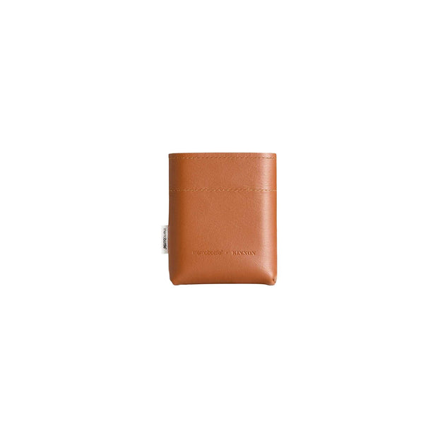 Memobottle Water Bottles A7 Leather Sleeve A7 Memobottle Tan Leather Sleeve Kaufmann Mercantile