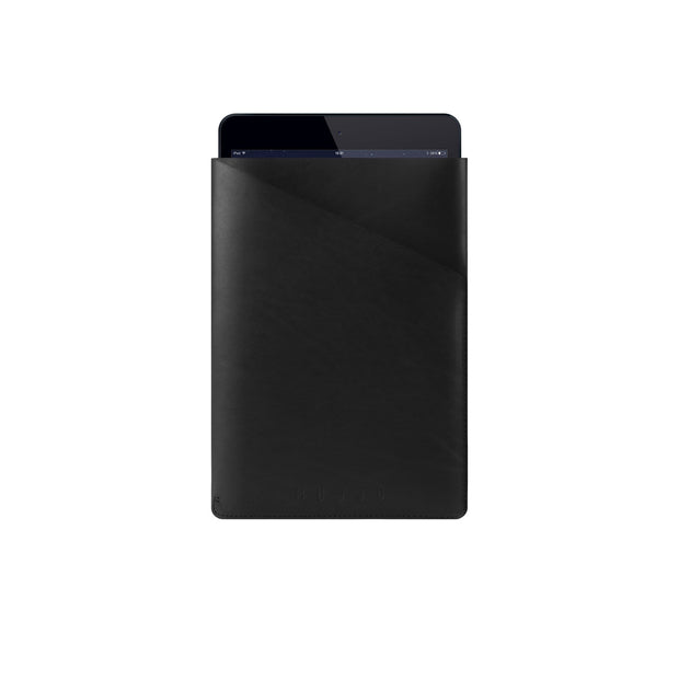 MUJJO Tech Cases Black iPad Air Slim Fit Leather Sleeve Kaufmann Mercantile