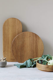NORMODE Cutting Boards & Trays Form & Refine Section Cutting Board, Round Kaufmann Mercantile