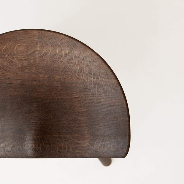 NORMODE Decor Form & Refine Shoemaker Chair™, No. 78, Smoked Oak Kaufmann Mercantile