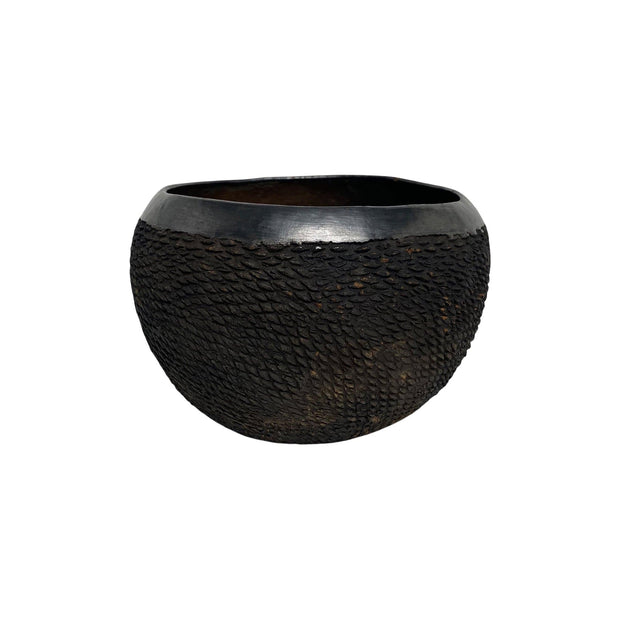 Obakki Bowls Burnt Earth Rounded Earthenware Bowl | L Kaufmann Mercantile