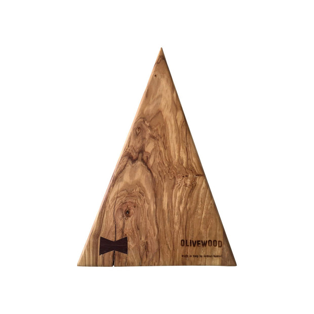 Olivewood Knives & Cutting Boards Large Triangle Cutting & Serving Board Kaufmann Mercantile