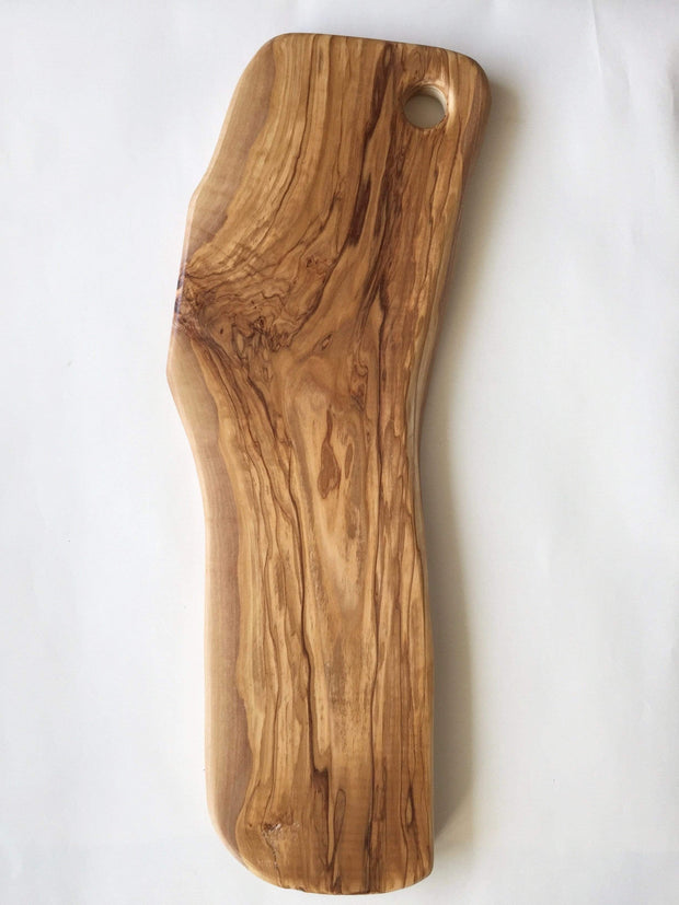 Olivewood Knives & Cutting Boards Organic Shape Cutting & Serving Board Kaufmann Mercantile