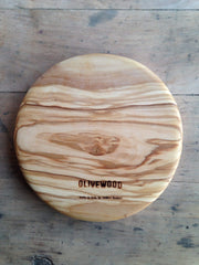 Olivewood Knives & Cutting Boards Small Circle Cutting & Serving Board Kaufmann Mercantile