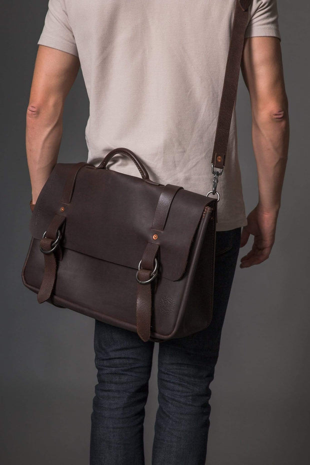 Orox Leather Co. Messenger & Crossbody Bags Nuntius X Kaufmann Mercantile