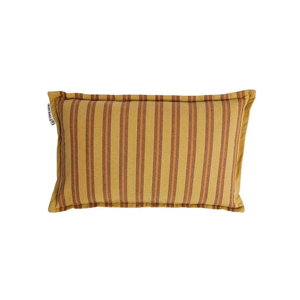 Pony Rider Cushions & Throws Golden Tan Lil Safari Stripe Cushion Cover Kaufmann Mercantile