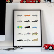 Rear View Prints Home Decor Film Classics – Movie Car Poster Kaufmann Mercantile