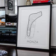 Rear View Prints Home Decor Full -Throttle Formula 1 – Monza Poster Kaufmann Mercantile