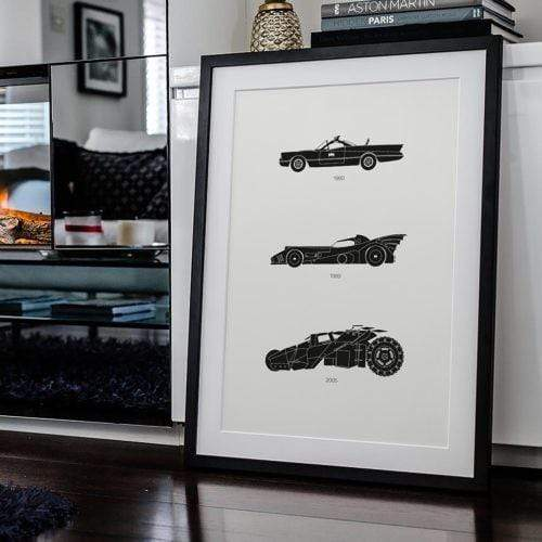 Rear View Prints Home Decor Holy Smokes! - Batman Poster Kaufmann Mercantile