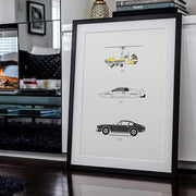 Rear View Prints Home Decor Live and Let Drive - James Bond Poster Kaufmann Mercantile