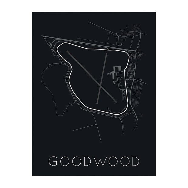 "Rear View Prints Home Decor 12"" X 16"" / Black The Festival Of Speed – Goodwood Poster Kaufmann Mercantile"