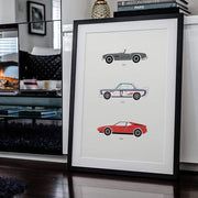 Rear View Prints Home Decor Truly Ultimate Driving – BMW Poster Kaufmann Mercantile