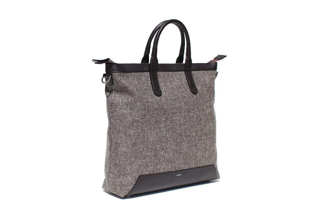 RUSKIN Tote Bags Chocolate Quentin Tote Kaufmann Mercantile