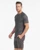 SAMSON...A Men's Emporium Apparel Rhone Black Heather Reign Short Sleeve Kaufmann Mercantile