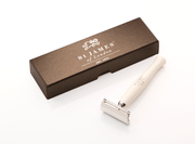 SAMSON...A Men's Emporium Ivory St. James Safety Razor Kaufmann Mercantile