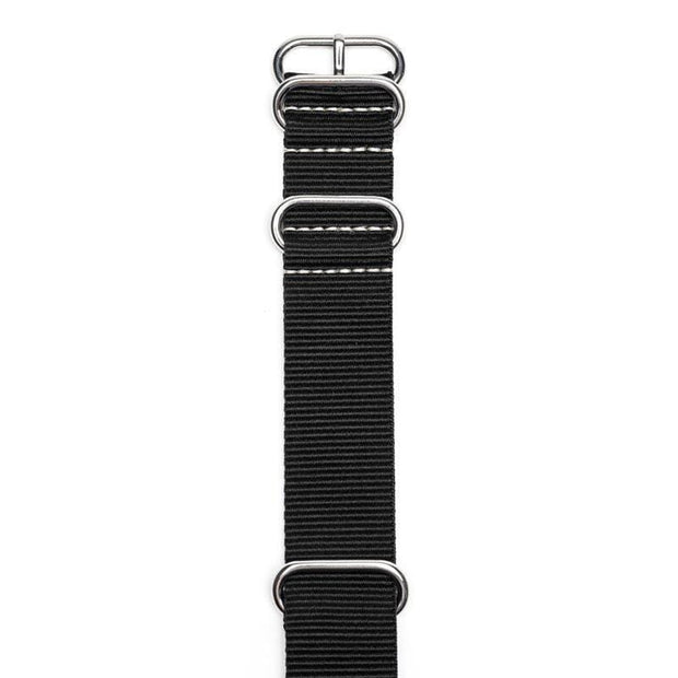 SAMSON...A Men's Emporium Watches Black Nylon Nato Watch Strap Kaufmann Mercantile