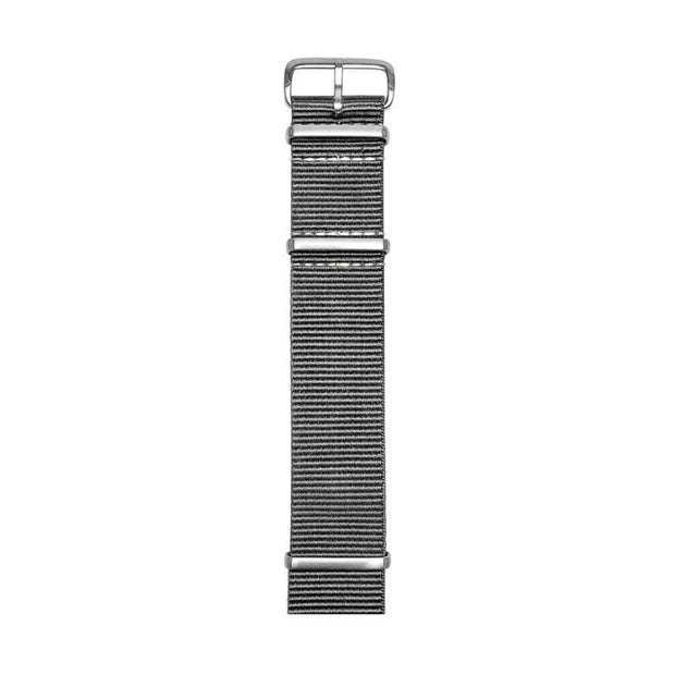 SAMSON...A Men's Emporium Watches Gray Nylon Nato Watch Strap Kaufmann Mercantile