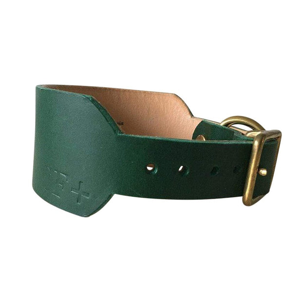 Seldom Found Collars + Harnesses Forest Green Artisan Sighthound Dog Collar Kaufmann Mercantile