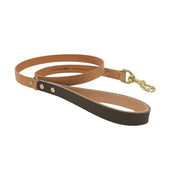 Seldom Found Leashes + Leads Artisan Dog Lead in Greige and Tan Kaufmann Mercantile