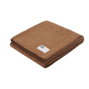Seljak Cushions & Throws Whipstitch Ochre Wool Blanket Kaufmann Mercantile