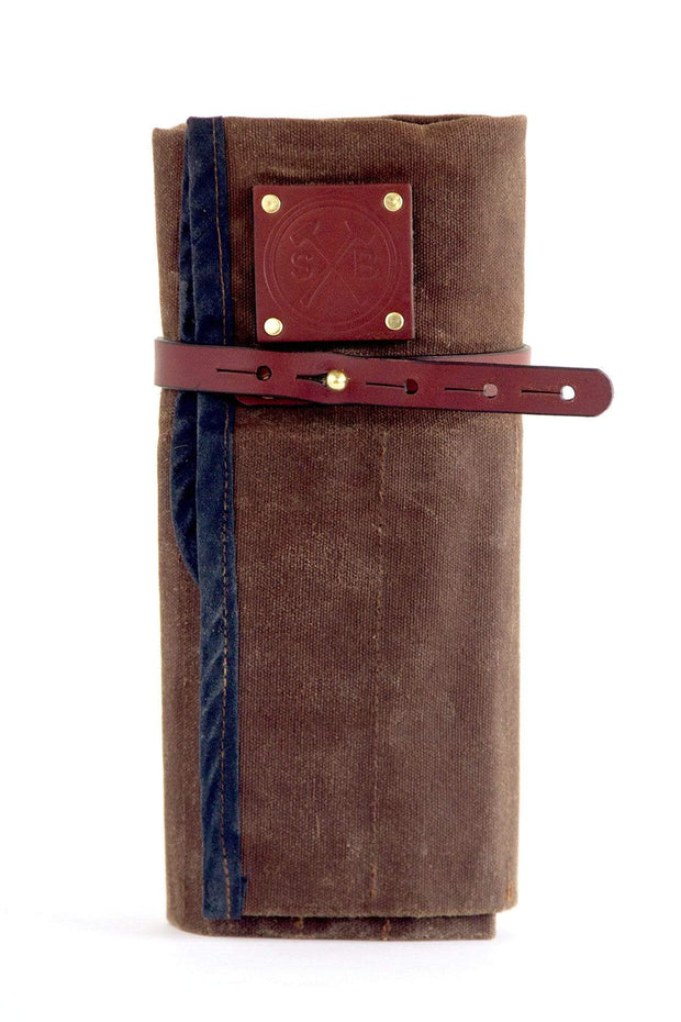 Sturdy Brothers Outdoor Accessories Orville Waxed Canvas Tool Roll Kaufmann Mercantile