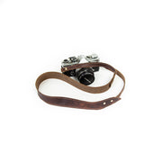 Sturdy Brothers Small Leathergoods Ansel Camera Strap in Seahawk Kaufmann Mercantile