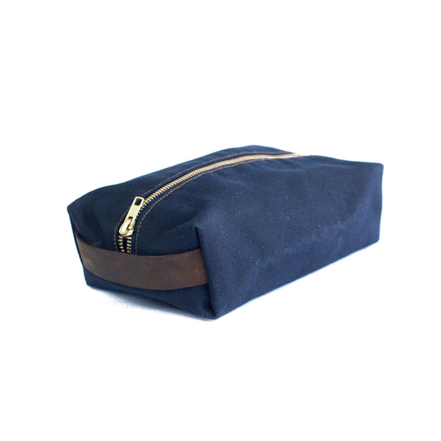 Sturdy Brothers Travel Organization Navy Dopp Kit Kaufmann Mercantile