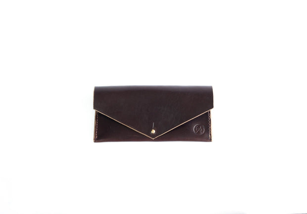 Sturdy Brothers Wallets & Card Cases Brown Clutch Wallet Seahawk Chromexcel Kaufmann Mercantile
