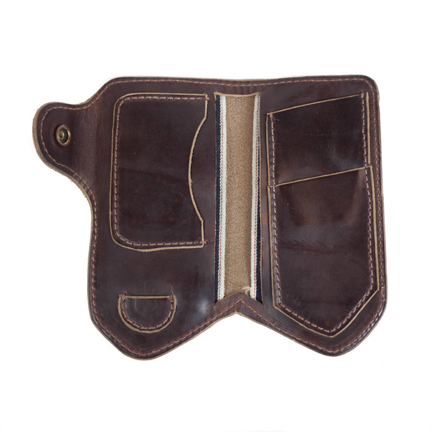 Sturdy Brothers Wallets & Card Cases Jean Snap Wallet Seahawk Chromexcel Kaufmann Mercantile