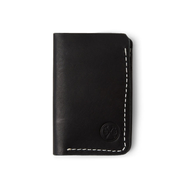 Sturdy Brothers Wallets & Card Cases Kinneman Wallet in Black Dublin Kaufmann Mercantile