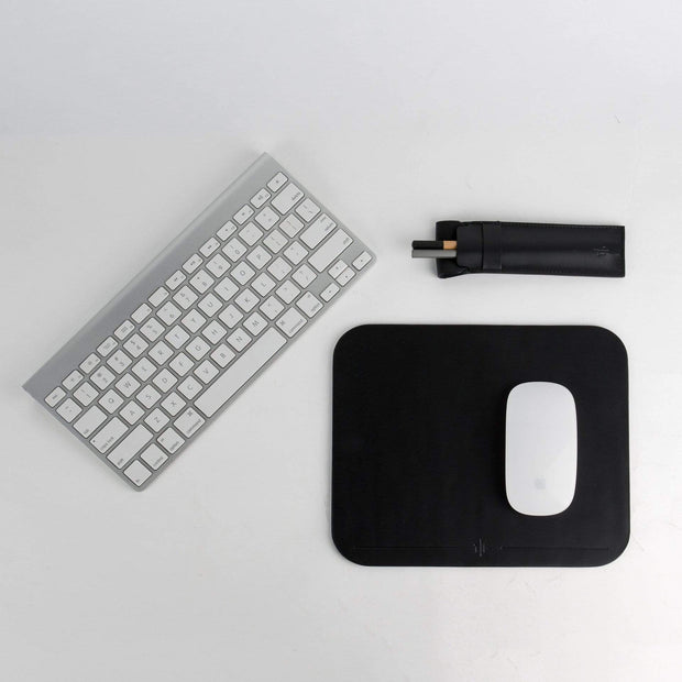 Tefors All Products Mouse Pad | Black Kaufmann Mercantile