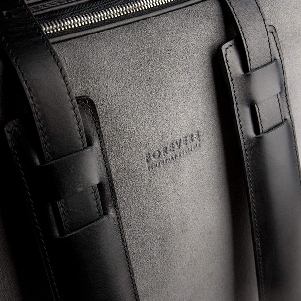 Tefors Bags 48Hr Switch | Black & Graphite Suede Kaufmann Mercantile