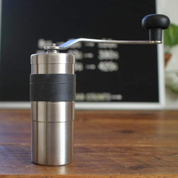 The Coffee Registry Coffee & Tea Accessories Porlex Stainless-Steel Mini Coffee Grinder Kaufmann Mercantile